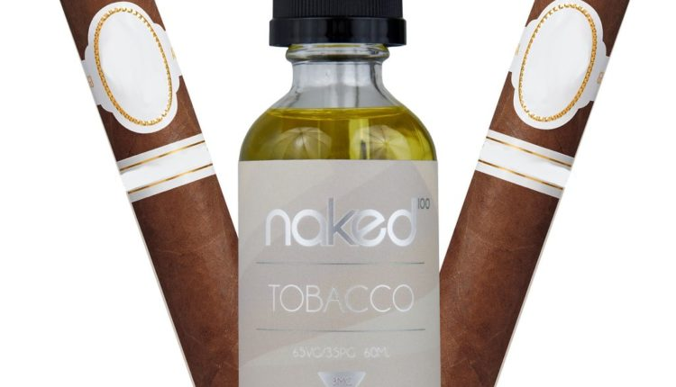 Cuban Blend Tobacco E-Juice by Naked 100 Review