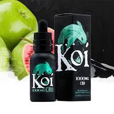 Koi CBD Watermelon Green Apple Sour CBD Vape Juice