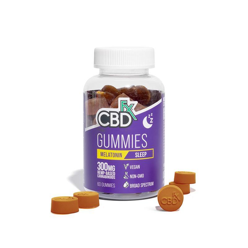 CBD Gummies for Sleep with Melatonin by CBDfx Review