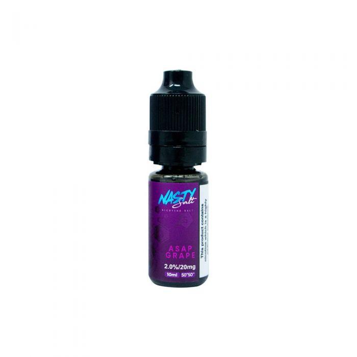Asap Grape E-Liquid by Nasty Salt Review