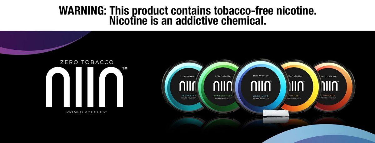 NIIN Zero Tobacco Spearmint Nicotine Pouches Review
