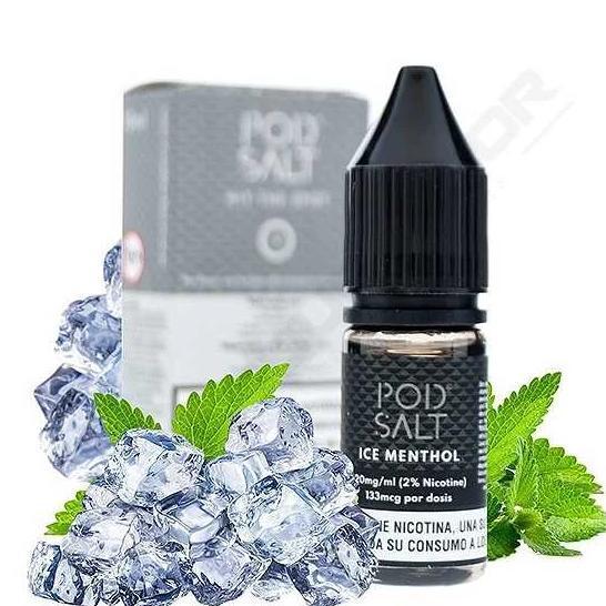 Ice Menthol Nic Salt E-Liquid by Pod Salt Review