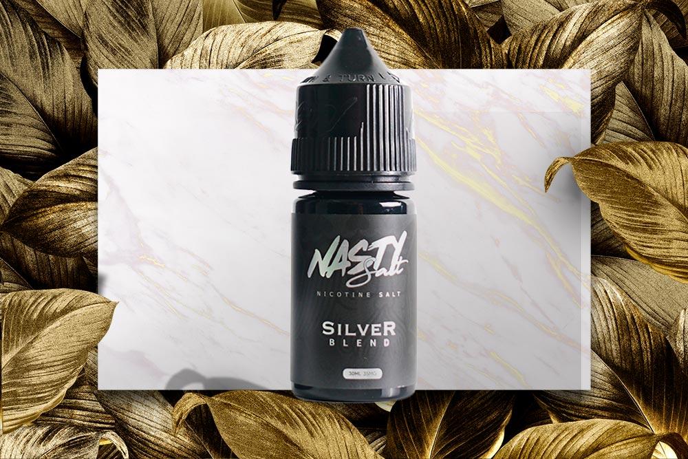 Nasty Silver Tobacco Nicotine Salt Review